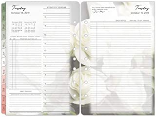 Classic Blooms Daily Ring-Bound Planner - Oct 2019 - Sep 2020