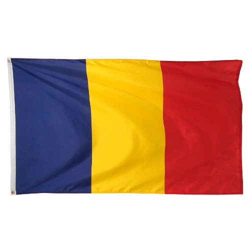 Online Stores Romania Printed Polyester Flag, 3 by 5-Feet