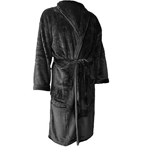 Homelei Unixex Badjas voor dames en heren, unixex, badjas, saunajas, reisbadjas, knuffelzacht, sauna ochtendrok