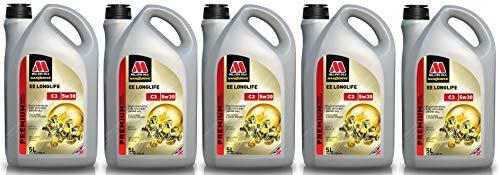 Millers Oils EE Longlife 5w30 C3 SN LL04 Dexos 2 225.51 505.01 502.00 Motorolie, 25 liter