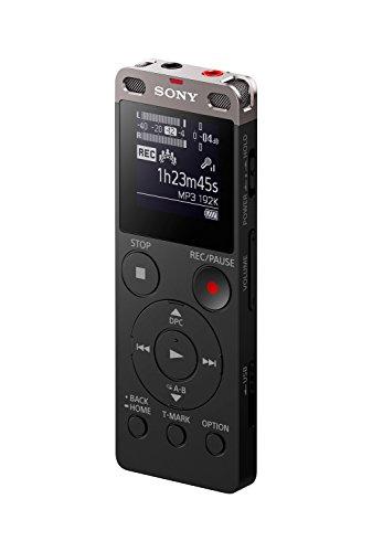 "Sony ICDUX560BLK Digital Voice Recorder 1"" Black"