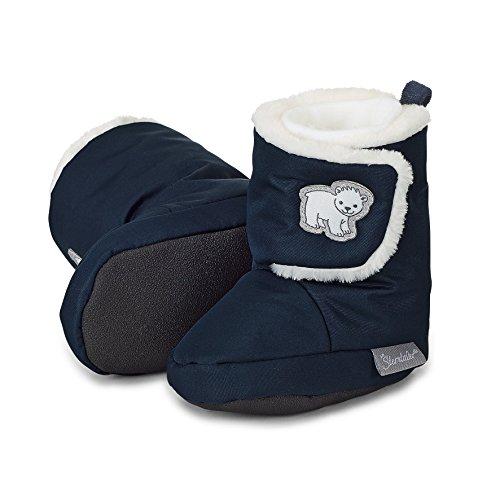 Sterntaler Jungen Baby Stiefel mit Klettverschluss, Farbe: Marine, Größe: 15/16, Alter: 4-6 Monate, Artikel-Nr.: 5101803