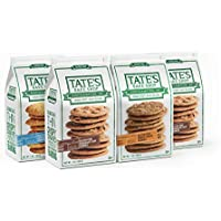 4-Pack Tate's Bake Shop Thin & Crispy Cookies, 7 Ounce