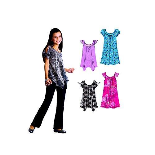 Simplicity 3514 Schnittmuster Hannah Montana für Mini-Kleid, Tunika, Gr. 36-44