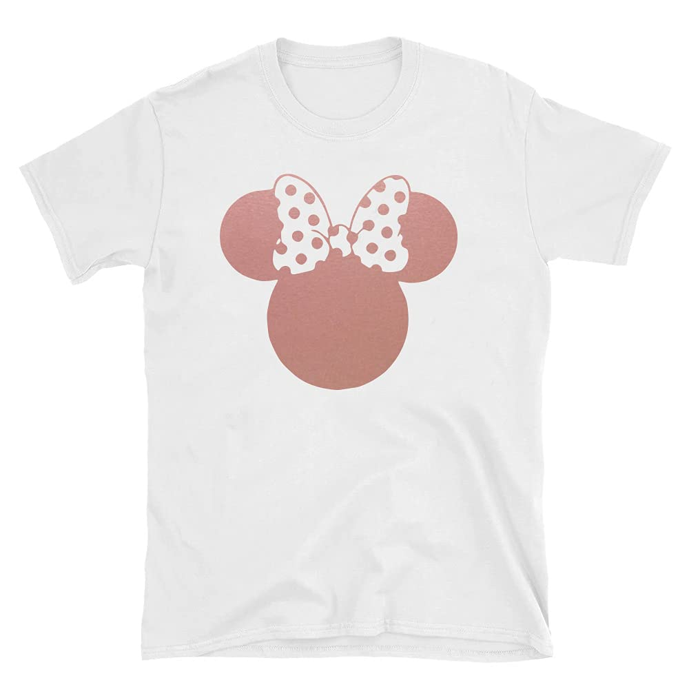 Inventory Max 46% OFF cleanup selling sale Rose Gold Mouse T-Shirt