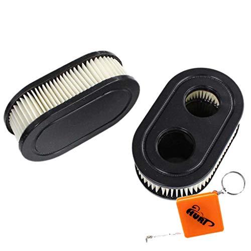HURI Packung mit 2 Luftfilter für Briggs & Stratton Motoren 550E 550EX Eco-Plus 575EX Series 4247 5432 5432K motor Rasenmäher Ersetzt 798339 798452 593260