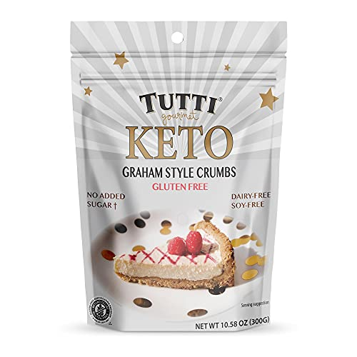 Keto Graham Style Crumbs 300gr by Tutti Gourmet.