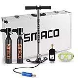 Cilindro de Oxígeno de Buceo, Tanque de oxígeno, Conjunto de Equipo de Buceo con Bomba de Aire de...