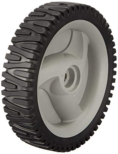 Husqvarna 583719501 Wheel and Tire Assembly 8-Inch by 1.75-Inch For Husqvarna/Poulan/Roper/Craftsman/Weed Eater,Grey