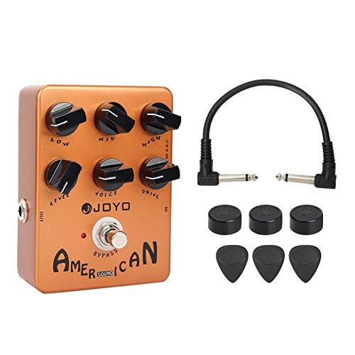 Práctico efecto de guitarra eléctrica duradero para amantes de la guitarra para guitarras eléctricas