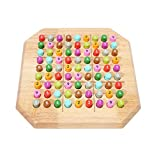 Sudoku Puzzle, Wooden Sudoku Puzzle Board Game Large Family Game- Math Brain Teaser Desktop Game