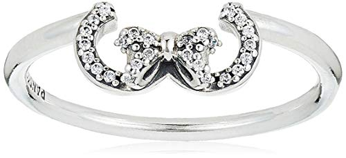 Pandora anillo De las mujeres Plata esterlina Esterlina 925 circonita - 197509CZ-60
