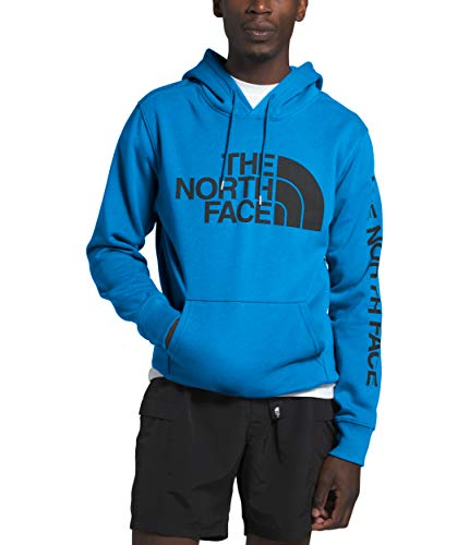 The North Face Men's Half Dome TNF Pullover Hoodie, Clear Lake Blue, S