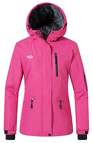 Wantdo Women's Windproof Ski Jacket