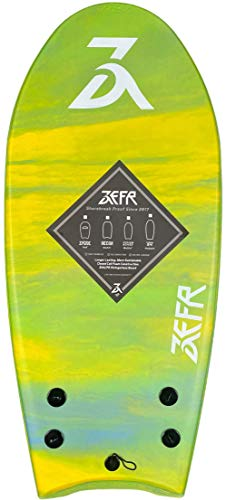 www.zefrboards.com ZEFR 48' Fusion (Mahi) Hybrid Stand-UP Bodyboard, Leash & FINS Included