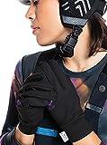 Roxy Hydrosmart - Guantes para Snowboard/Esquí - Mujer - S - Negro