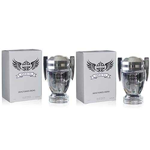 J&H 2 Pack - VICTORY, Eau de Toilette Spray for Men, Wonderful Gift, Masculine Fragrance, Daytime and Casual Use, 3.4 Fluid Ounce
