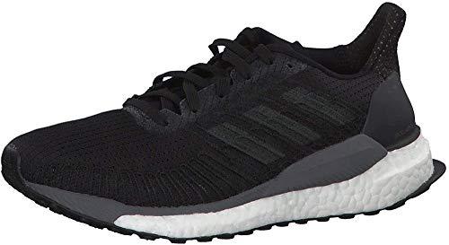 Adidas Solar Boost 19 W, Zapatillas para Correr para Mujer, Noir Gris Carbone Gris Foncã, 39 1/3 EU