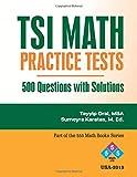 TSI MATH PRACTICE QUESTIONS: Math Practice
