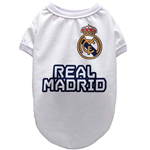 Real Madrid SH-01XXS-RM Camiseta para Perro, Talla XXS