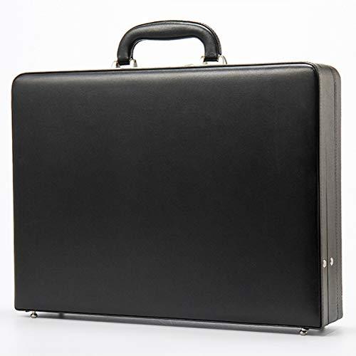 HOKVJ Geldkassette, Aktentasche, Tasche, Retro-Koffer, High-end-geschäftscodebox, Geldkassette, Aktenbox, Computerbox