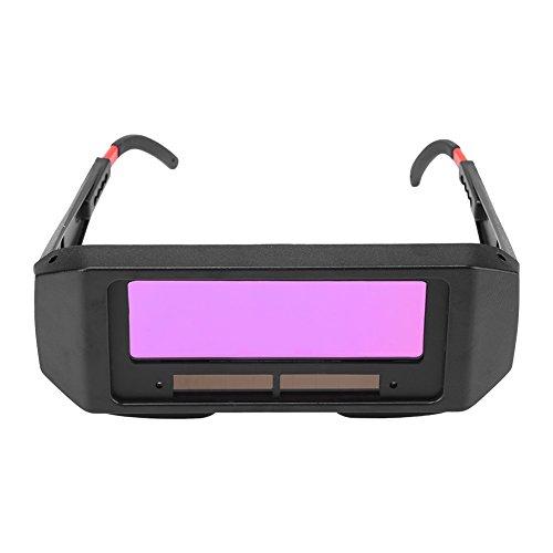 Gafas de soldadura de oscurecimiento automático solar, Solar Auto Oscurecimiento Soldadura TIG MIG Gafas Soldador Ojos Casco Protector de Ojos de la Lente Herramientas para soldar máscara