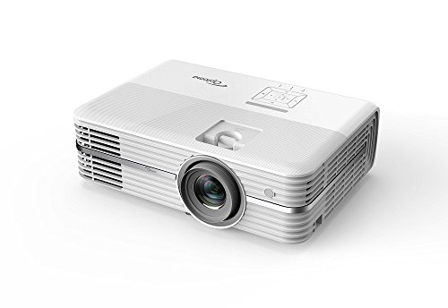 OPTOMA TECHNOLOGY UHD40 - Proyector 4K Home Cinema Ultra HD, 2400 lúmenes, 500000:1 contraste, formato 16:9, Blanco