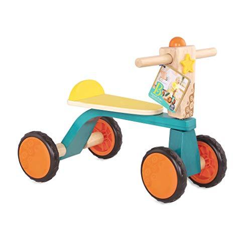 B. toys by Battat Toys Rutschrad aus Holz ohne Pedale mit Hupe – Erstes Fahrrad für Babys und Kinder – Laufrad Lauflernrad Holzspielzeug Spielzeug ab 18 Monaten, BX1933Z