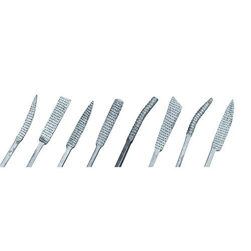 RAYHER 2723500 Raspel-Set 8-teilig, 20 cm, 8 Sorten