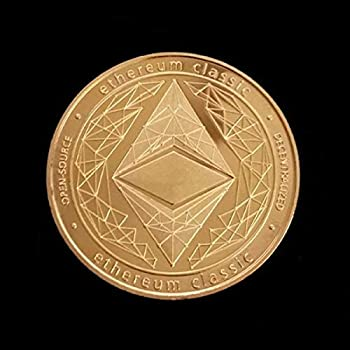 Ethereum Classic ETC | Cryptocurrency Virtual Currency | Gold Plated Challenge Art Coin | Bitcoin