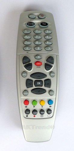 aktrend® - Fernbedienung für Dreambox DM 500HD / 7020HD / 7020/7025 /800 HD/800 SE HD /8000 HD Silber oder Schwarz