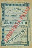 Catalogo generale 1901. (Vernici, colori, lacche, cere, ecc.)
