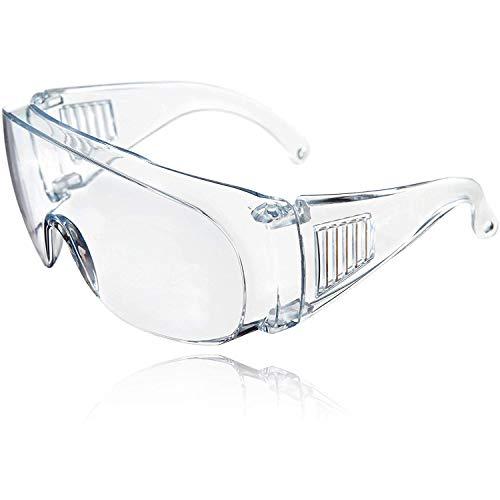 Gafas transparentes de Seguridad - Gafas Protectoras Lentes de Seguridad Antivaho, para Trabajo Laboratorio, Agricultura, Industria
