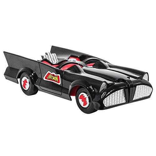 Figures Toy Company DC Comics Retro Batman Batmobile Playset (Black)