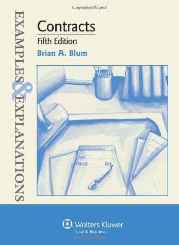 Download Contracts: Examples & Explanations, 5th Edition 