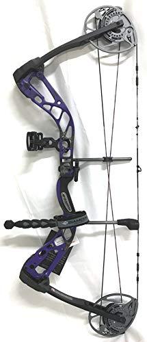 Diamond Archery Edge 320 70lbs Compound Bow, Right Hand, Purple Blaze