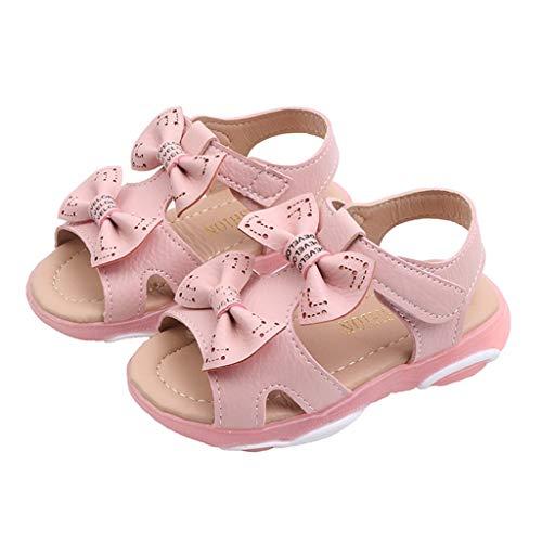 Kleinkind Baby Mädchen Kinder Blume Leder Einzelne Schuhe Weiche Sohle Prinzessin Schuhe Sommerhaus Außerhalb Nette LED Licht Sneaker Weiß Rosa Hot Rose 21-30