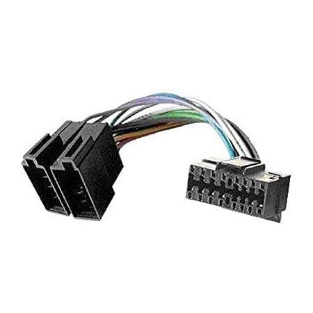 Kabel Anschluss Adapter Iso Für Autoradio Sony 16 Polig Elektronik