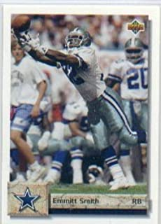 1992 upper deck emmitt smith football card