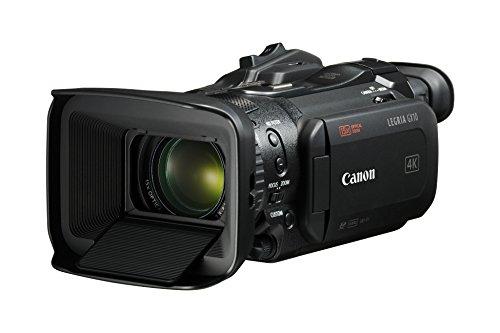 Canon LEGRIA GX10–Camcorder (4K 50fps, Wide DR, 15x optische Zoom, WLAN, af Dual PixelCMOS Fokussierung) schwarz
