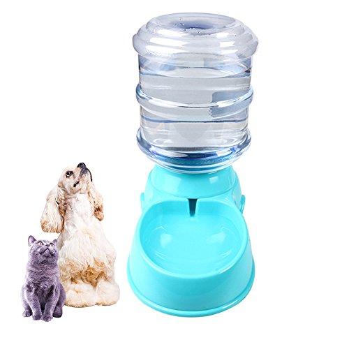 IHRKleid Wasserspender für Haustiere automatischer Haustier Zufuhr trinkender Brunnen Katze Hund Plastiknahrungsmittel Schüssel Haustier Wasserspender 3.5L (Automatischer Wasserspender)