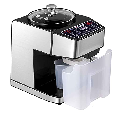 TreeSouth Máquina de Prensado de Aceite para El Hogar Prensa de Aceite Automática Prensado En Caliente Y En Frío, Rendimiento de Aceite > 95% 38x23.5x36cm