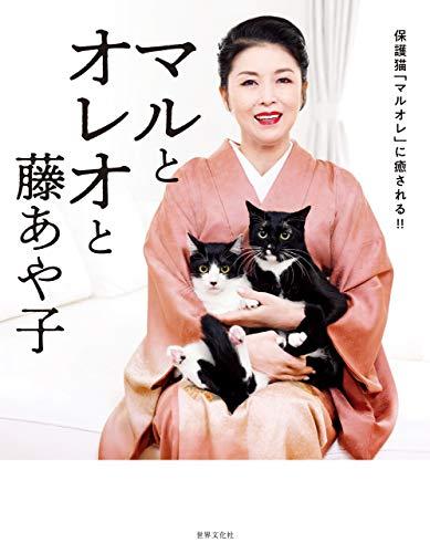マルとオレオと藤あや子 保護猫「マルオレ」に癒される!!