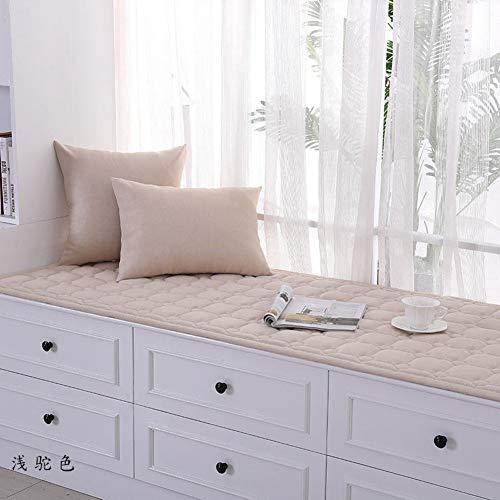 ZTMN Linnen Erker venstermat kussen vensterbank mat tatami mat gestoffeerde balkonmat anti-slip prinses float raamdekbed -I 60x150cm (24x59inch)