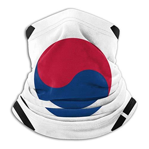 AEMAPE Pañuelo de Cabeza de pasamontañas Multifuncional con Bandera Coreana para Calentador de Cuello