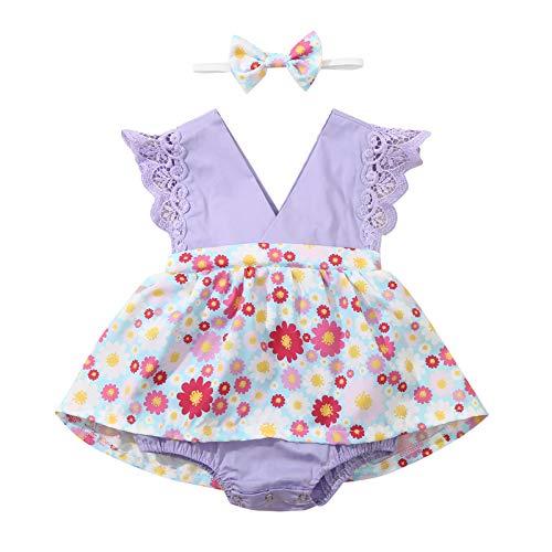 Ywlink Sommer Baby Kleid-Set ohne M...