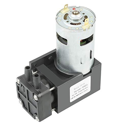 Oilless vacuümpomp 12V DC 42W mini krachtige vacuümpomp compressor -85KPa debiet 40L / min