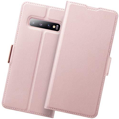 Funda Samsung S10 Plus, Funda Libro Samsung S10 Plus, Galaxy S10 Plus Carcasa Cierre Magnético, Tarjetero y Suporte, Capa S10 Plus Plegable Cartera, Flip Cover Case, Tipo Étui Piel Protección.