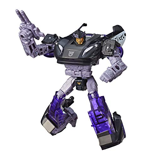 Transformers Toys Generations War for Cybertron Deluxe WFC-S41 Barricade Figure - Siege Chapter - Adults and Kids Ages 8 and Up, 5.5-inch