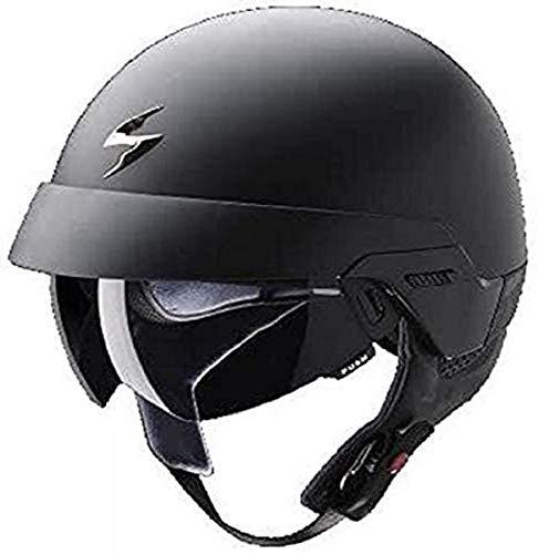Scorpion 1325_18289 Motorradhelm Exo-100 Mat, schwarz, Größe XL